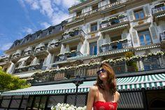 The Hotel Trois Couronnes in has a lovely, old-word feel with fabulous views of Lake Geneva. Vevey, Lake Geneva, Tahiti, European Travel, Luxury Travel, Breathe, Photos, Louvre, Paris
