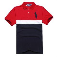 Ralph Lauren Men's Striped Crest Short Sleeve Polo Shirt Red http://www.hxzyedu.cn/?blog=ralph+lauren+polo+outlet