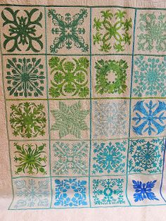 I think it needs stitches.: More Picture Overload from the PIQF Hawaiian Quilt Patterns, Hawaiian Pattern, Applique Quilt Patterns, Hawaiian Quilts, Quilting Tips, Quilting Projects, Quilting Designs, Quilting Fabric, Antique Quilts