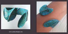 foldforming, copper, patina, ammonia patina, Sue Lacy, SueLacy Designs