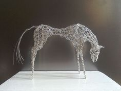 Buy Silver Wirework Horse, Sculpture by Linda Hoyle on Artfinder. Discover thousands of other original paintings, prints, sculptures and photography from independent artists.