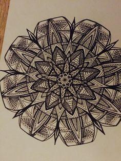 Mandala made by mieke