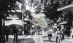 Atatürk cadddesi, Ulucamii köşesinden Tophane sırtları, Bursa - 1900'ler.