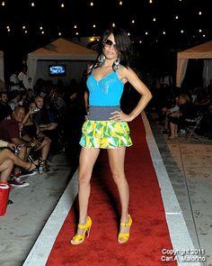 Jersey Shore Fashion Show, Sep 21, 2011 - Model Liz Coleman