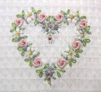Resultado de imagem para embroidered heart