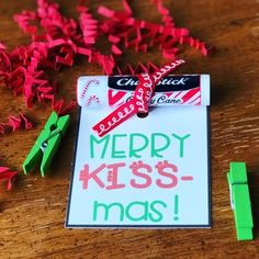 Christmas Gift Tags & Thank You Notes For Teachers and Students by Ashley Rossi Teacher Christmas Gifts, Homemade Christmas Gifts, Craft Gifts, Teacher Gifts, Holiday Gifts, Christmas Diy, Christmas Ornaments, Teacher Presents, Handmade Christmas