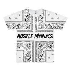 Hustle maniacs bandana t-shirt