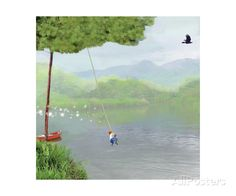 Tree Swing Giclee Print at AllPosters.com