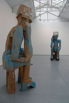 Georg Baselitz sculptures by Cattoo Art Pictures, Art Images, Art Of Fighting, Art Sculpture, T Art, Expositions, Image Collection, Installation Art, Contemporary Artists