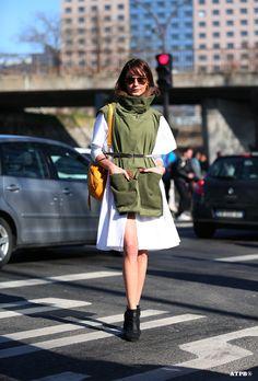 Streetstyle Post: PFW- 8 Looks to Love : Ece Sukan on #ATPB goo.gl/oo6RZZ