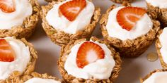 These crunchy granola cups let you eat your morning yogurt spoon-free.