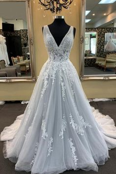 Tulle Prom Dress, Lace Evening Dresses, Lace Dress, Tulle Lace, Maxi Dresses, Grey Prom Dress, Prom Dress Long, Summer Dresses, Long Dresses