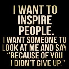love this...but I'm so tired right now...not being particularly inspirational to anyone...