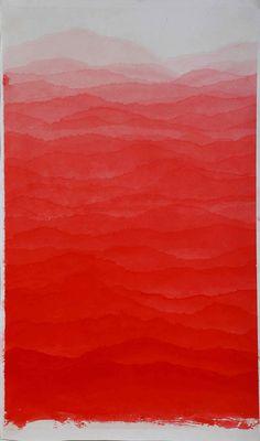 Minjung Kim - red mountain