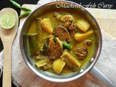 Bengali Style Mackerel Fish Curry