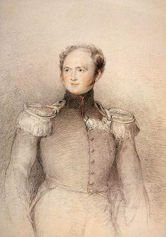 1818 Portrait of Alexander I (Hermitage, St. Petersburg, Russia)