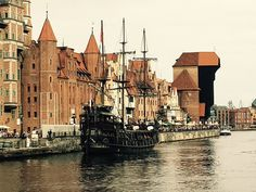 #Danzig #Polen #Altstadt #Hanse #Schiff #zuraw #Gdansk #Polska #Bellamondoo #blackpearl #Reisen  Altstadt und Hafen in Danzig. August 2017