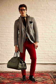 Michael Bastian Fall 2015 Menswear - Collection - Gallery - Style.com