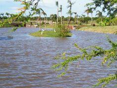 lagos sembrados con variedad de peces destinados a actividades de pesca con devolución