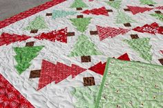 (7) Name: 'Quilting : Christmas Treetopia