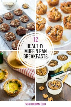 YUMMY! Adding these healthy muffin tin breakfasts to my meal prep plan!