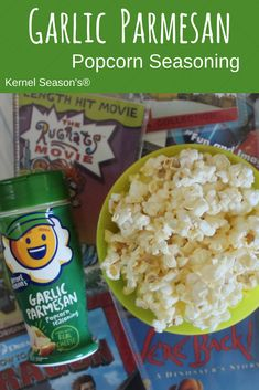 Made with real cheese and garlic, this classic combination brings the taste of Italy to your popcorn. Make movie night a little more tasty with garlic parmesan popcorn seasoning! Kernel Season's, Popcorn Seasoning, Garlic Parmesan, July 4th, Tasty, Movie, Cheese, Night, Classic