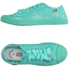 Molly Bracken Low-tops & Trainers ($34) ❤ liked on Polyvore featuring shoes, sneakers, light green, round toe sneakers, flat shoes, embroidered shoes, light green shoes and molly bracken