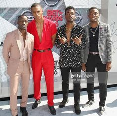 Elijah Kelley, Keith Powers, Luke James, & Woody McClain
