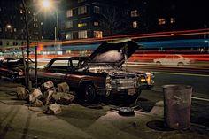 <em>Hard Rock Caddy, Cadillac near 23rd Street and 8th Avenue, 1975.</em>