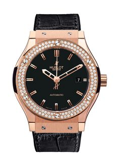 Classic Fusion King Gold Diamonds Automatic watch from Hublot