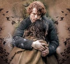 """Outlander Love & Art By Vera Adxer — to remember """". Starz Series, Outlander Series, Tv Series, Outlander Fan Art, Sam Heughan Outlander, Wiccan Wedding, Baby Witch, Jamie And Claire, Handfasting"""