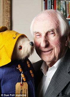 Michael Bond is most celebrated for his Paddington Bear series of books