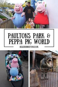 Paultons Park Peppa Pig World in Hampshire - what we thought of it and a vlog