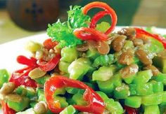 Cooking tips, how to cook bitter gourd  What you need : Prepare to taste pare 3 red chili beans Red onion 3 cloves 2 cloves garlic ½ teaspoon roasted shrimp paste Salt to taste Granulated sugar or brown sugar Cooking oil