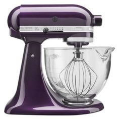 Batedeira KitchenAid 5-Quart Artisan Design Series Stand Mixer KSM155GB: Plumberry #Batedeira #KitchenAid