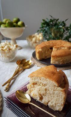 Base de gâteau vegan, ingrédients simples (version aux pommes) Gateaux Vegan, Vegan Cake, Family Meals, Vegan Vegetarian, Gluten, Ice Cream, Bread, Cooking, Breakfast