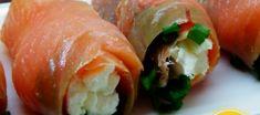 Łososiowe rollony Sushi, Vogue, Ethnic Recipes, Food, Diet, Essen, Meals, Yemek, Eten