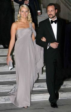 Crown Prince Haakon and Mette Marit