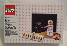 New Lego Exclusive 5002812 White Spaceman Minifigure Set Rare Unopened 6+ 2014 #LEGO
