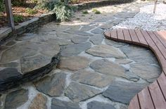 Top Stone Ltd. online store offers a huge selection of high-quality paving and patio slabs, granite dust, walling stones garden borders and even more. Garden Slabs, Patio Slabs, Garden Stones, Garden Paths, Slate Paving, Slate Stone, Paving Stones, Stepping Stones, Unique Buildings