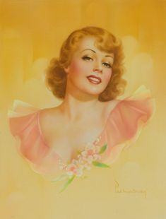 Pin-Up Queens: Three Female Artists Who Shaped the American Dream Girl Vintage Glamour, Vintage Beauty, Vintage Art, Vintage Ladies, Vintage Woman, Vintage Prints, Pin Up Illustration, She's A Lady, Real Model