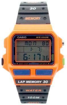 Casio - SDB-500WB-4AV - Montre Homme - Quartz Digitale - Chronomètre/Alarme/Eclairage - Bracelet Caoutchouc Noir: Amazon.fr: Montres