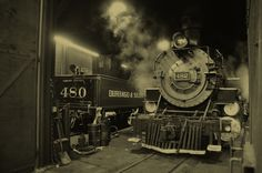 Roundhouse locomotives