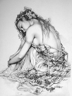 Gorgeous! :-) makes me want to create more and more beautiful drawings .