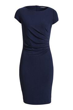 Esprit - Basic stretchjurk van soepele jersey kopen in de online shop €69,99