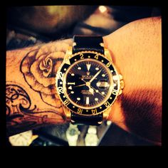 Some People Would Say A Gold Rolex Is Flashy But If You Dress...