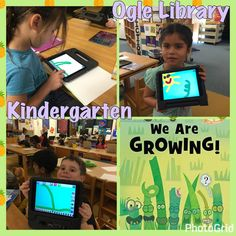 We Are Growing! Draw and Tell iPad activity- Ogle library