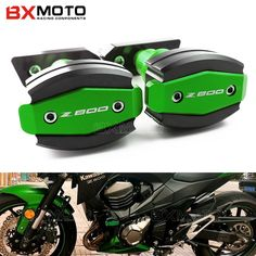 Motorcycle Accessories Cnc Frame Sliders Falling Protection Anti Crash Pad Left&Right Sides for kawasaki Z800 Z 800 2013-2015