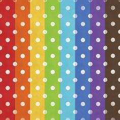 Free Polka Dot Paper Printable from Digital Card Fun