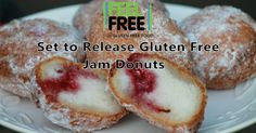 Feel Free Set To Release Gluten Free Jam Donuts by the end of the year!